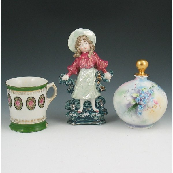 17: Lot of Three (3) Porcelain Pieces
