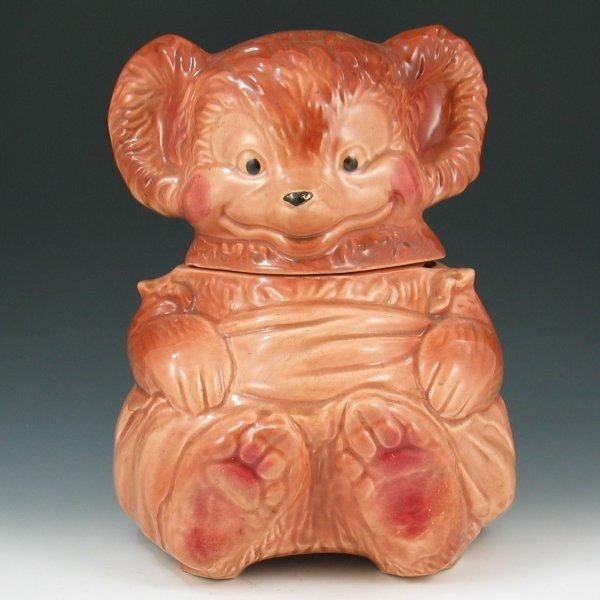 3: Brush McCoy #014 Bear Cookie Jar