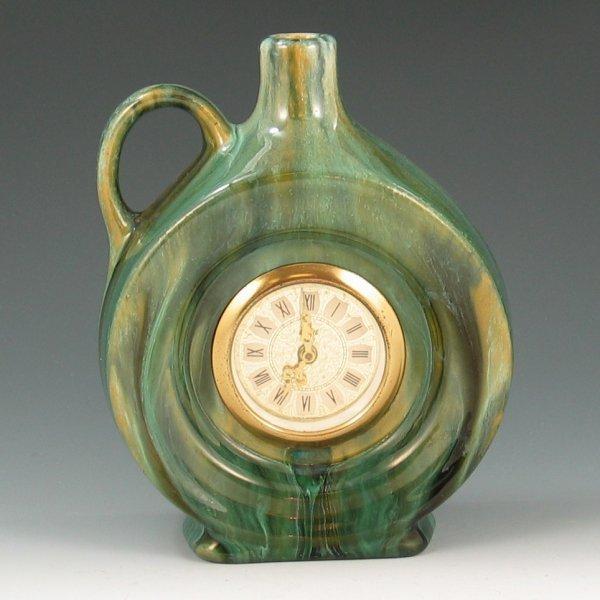 6: Brush McCoy Green Onyx Clock Jug - Mint