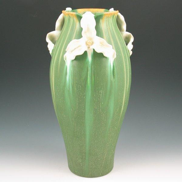 """191: Ephraim Trillium 12 3/8"""" Vase - Mint"""