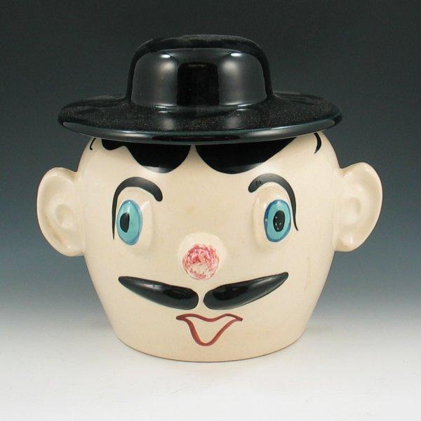 704: Pfaltzgraff Derby Dan Muggsy Cookie Jar