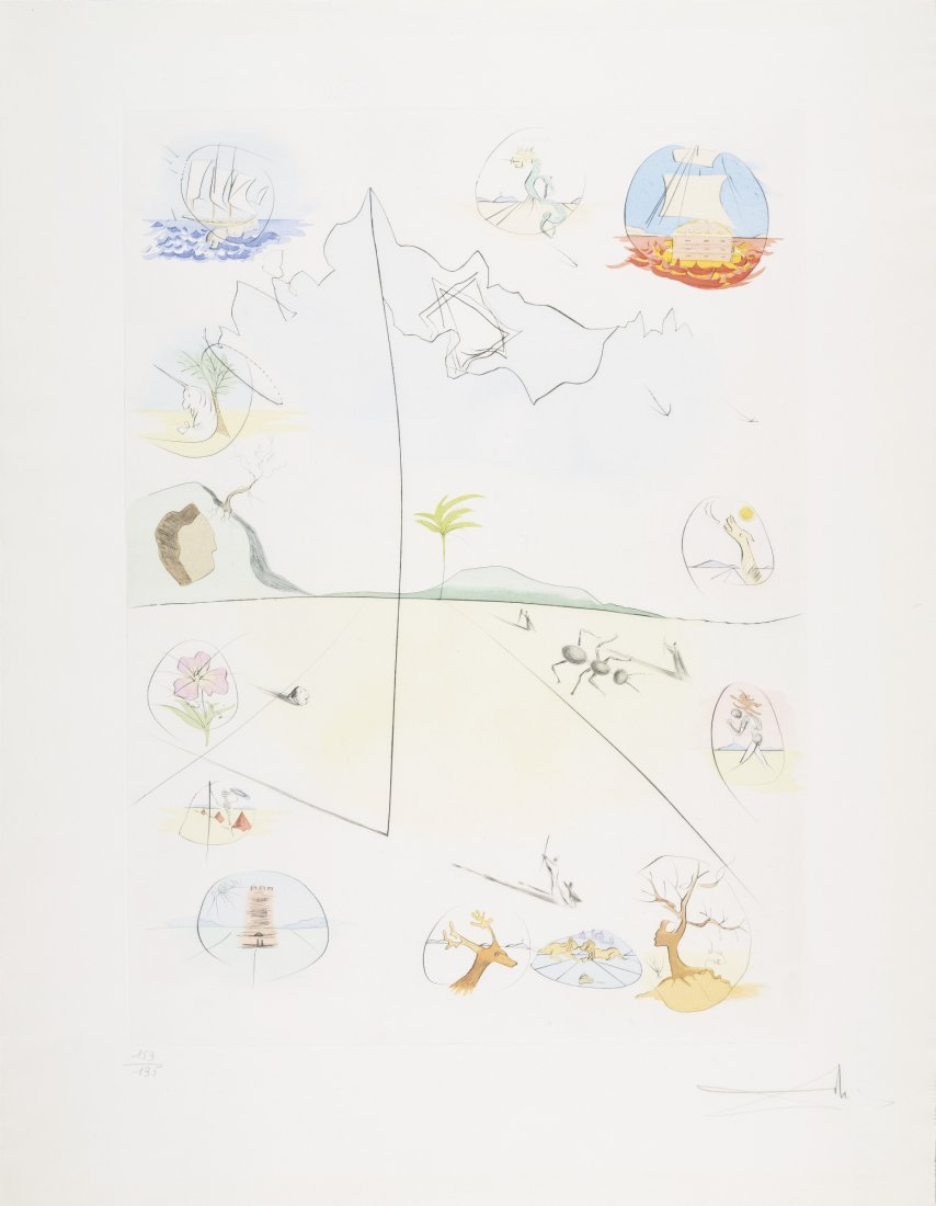 Salvador Dali, Twelve Tribes of Israel - Complete - 5