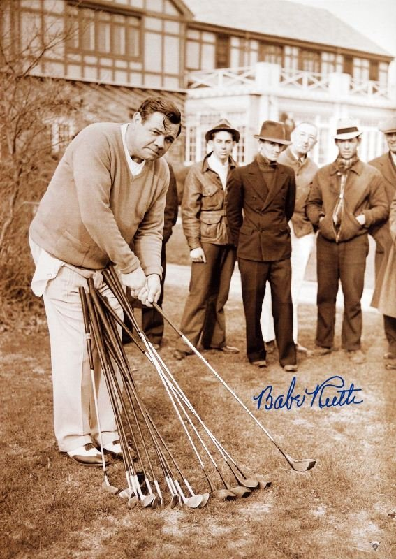 Babe Ruth - Club Selection 1937 by Unknown Artist -