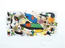 Sculpture by Joan Miro - Offset Lithograph - Abstract