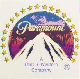 Andy Warhol, Paramount (F. & S. II.352), Serigraph