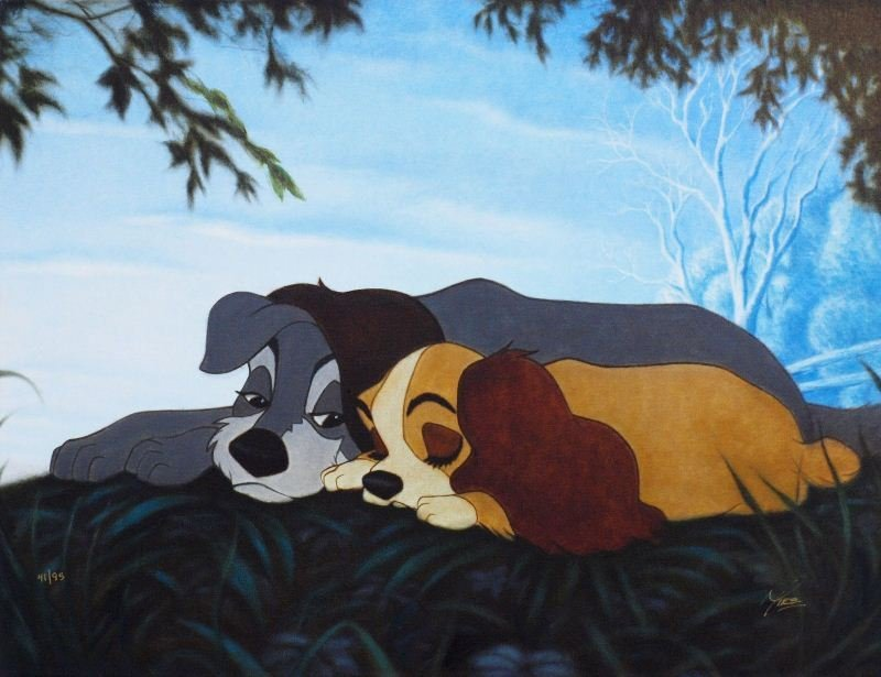 Lady and the Tramp - My Sweet Lady by Mike Kupka -