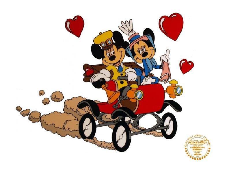 Nifty Nineties by Walt Disney - Animation Sericel -
