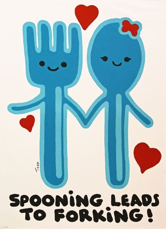 Spooning Leads to Forking by Todd Harris Goldman -