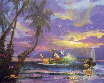 Summer Escape by James Coleman - Giclee on Canvas -