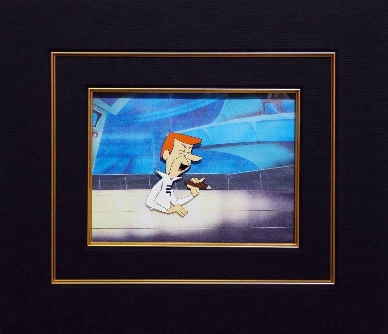 George Jetson by Hanna-Barbera - Original Animation Cel