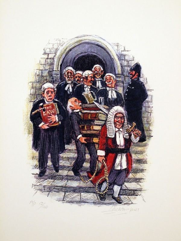 Theatre of Law Series - 8 by Barry Leighton Jones -