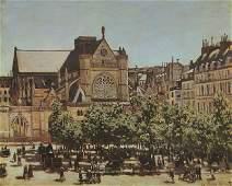 Saint Germain L'Auxerrois by Claude Monet -