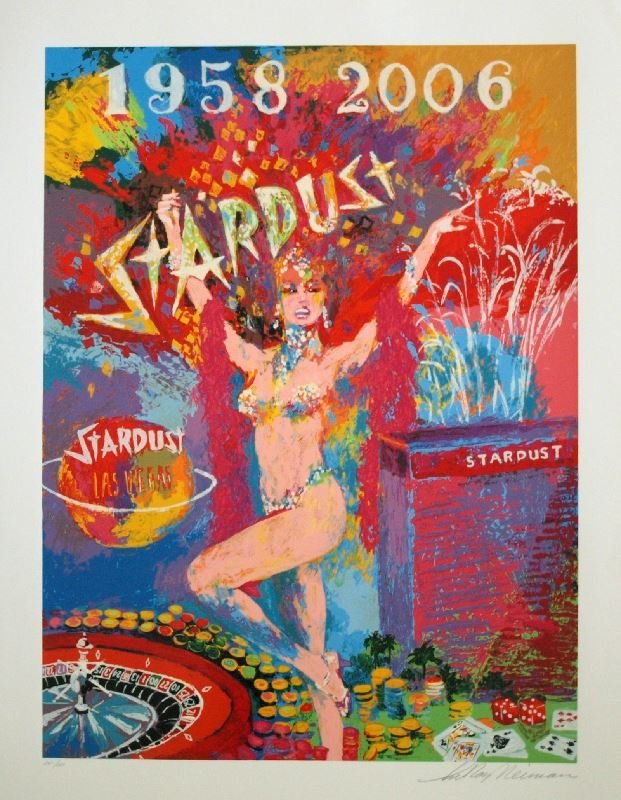 Stardust Reflections by LeRoy Neiman - Serigraph on