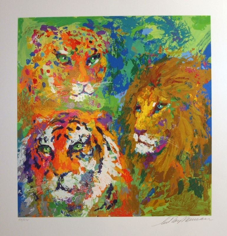Family Portrait by LeRoy Neiman - Serigraph on Paper -