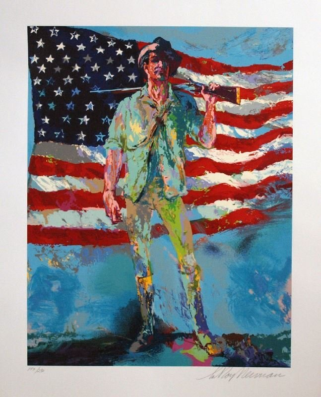 Minuteman by LeRoy Neiman - Serigraph on Paper -