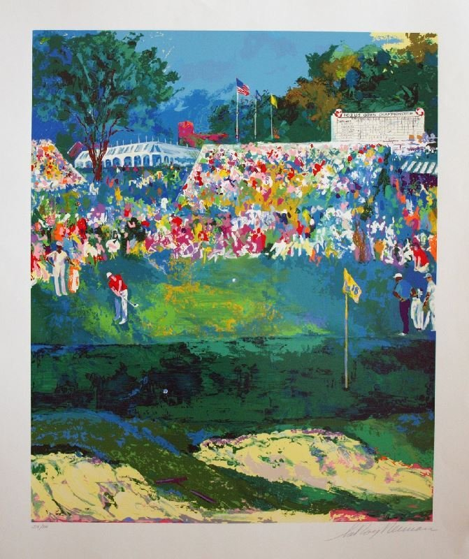 Bethpage Black Course by LeRoy Neiman - Serigraph on
