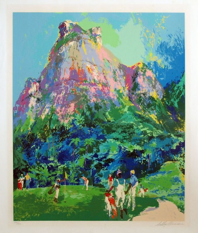 International Foursome by LeRoy Neiman - Serigraph on