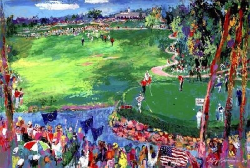 Ryder Cup Valhalla 2008 by LeRoy Neiman - Serigraph on