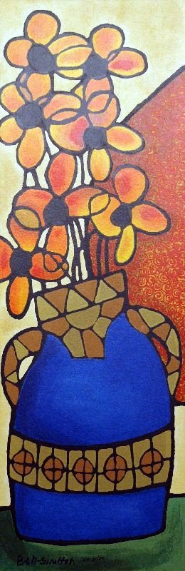 Indian Summer by Avi Ben-Simhon - Serigraph on Paper -