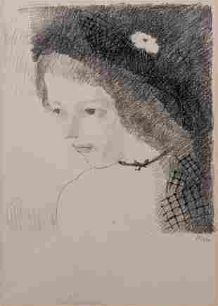 Marie Laurencin (1883-1956) Suzanne Print