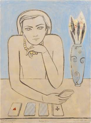Francoise Gilot (B. 1921) The Past and the Future, 1987