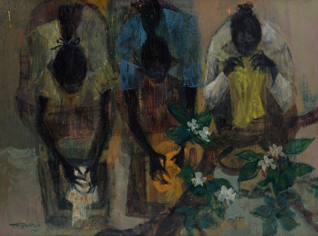 Romeo Tabuena (1921-2015) Washer Women, 1961