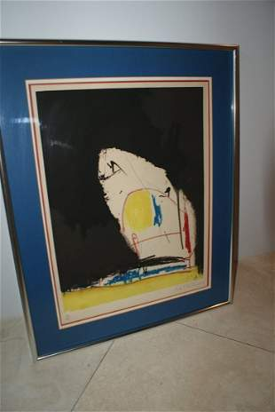 Robert Motherwell (1915-1991) signed and numbered litho