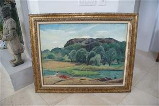 Leon Kroll (American 1884-1974) O/C signed and titled