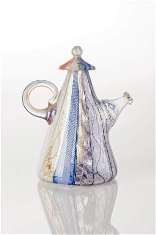 Richard Marquis (b.1945) Zanfirico Teapot