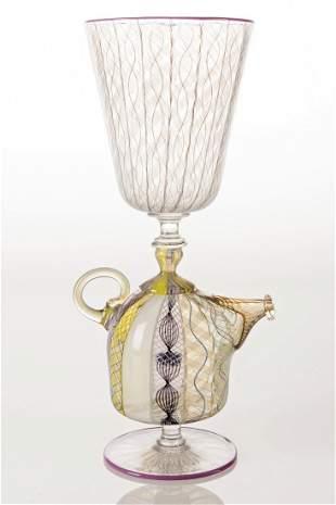 Richard Marquis (b.1945) Teapot Goblet