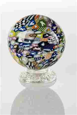 Richard Marquis (b.1945) Murrine Sphere, Noble Effort