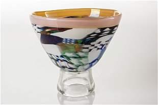 Richard Marquis (b.1945) Murrine Bowl