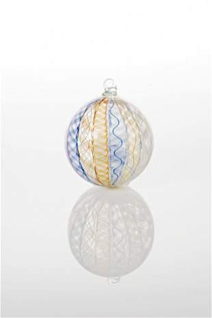 Richard Marquis (b.1945) Zanfirico Ornament