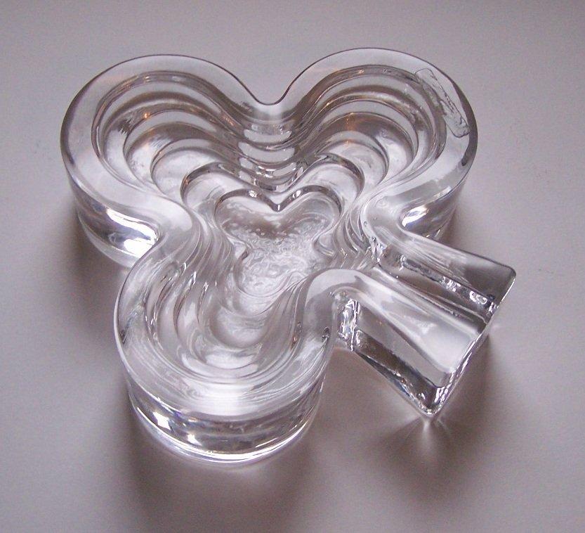 ARNOLFO Di CAMBIO ART GLASS CRYSTAL SIGNED ashtray