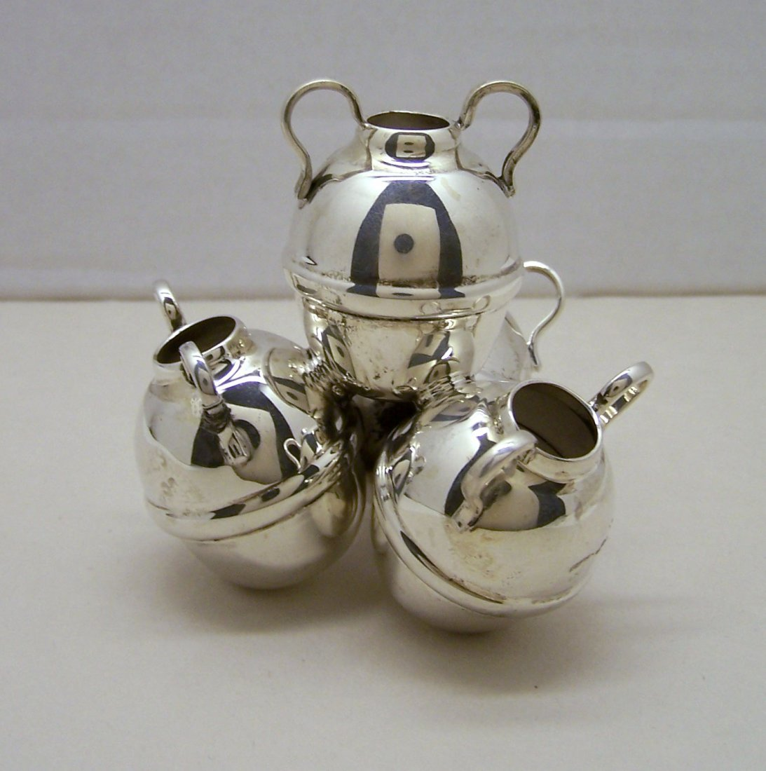 SAAD OF EGYPT 900 silver antique water jug sculpture