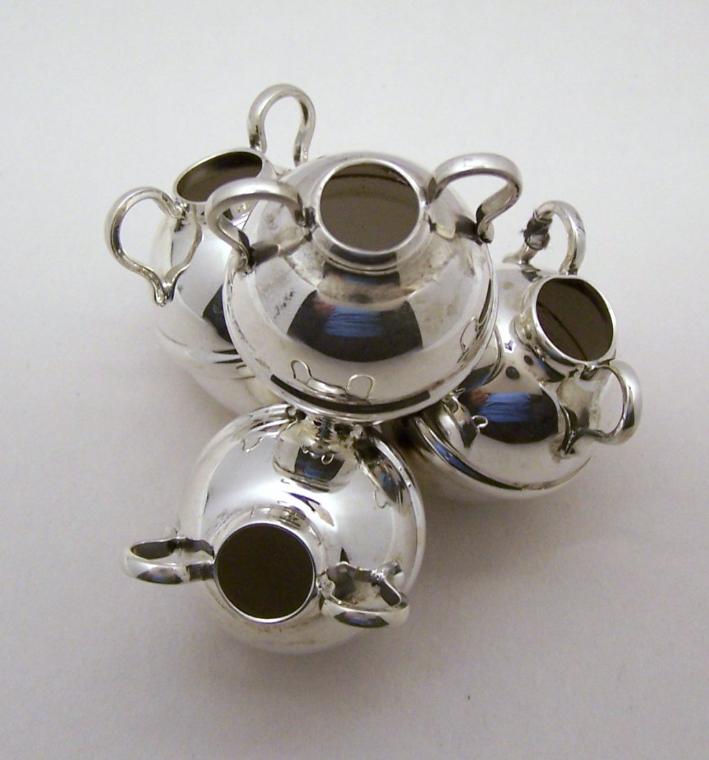 SAAD OF EGYPT 900 silver antique water jug sculpture - 7