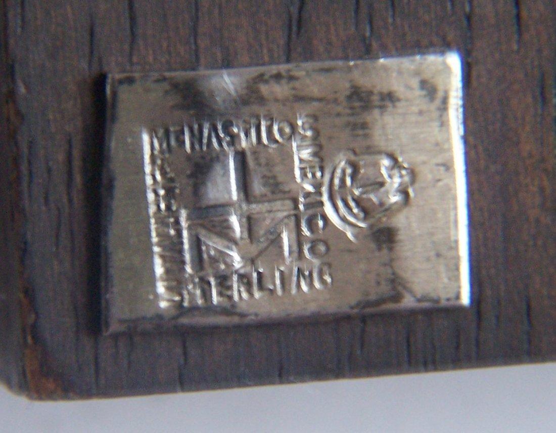 Mexico Talleres Monastico sterling religious plaque - 6
