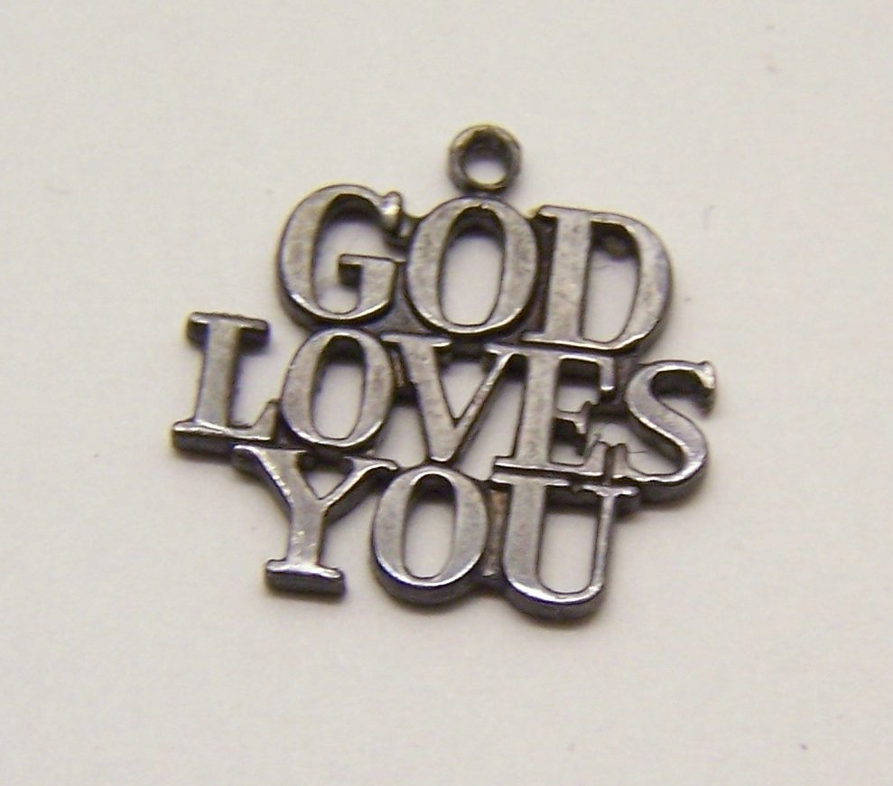 Tiffany & co God Loves You sterling charm bracelet - 2