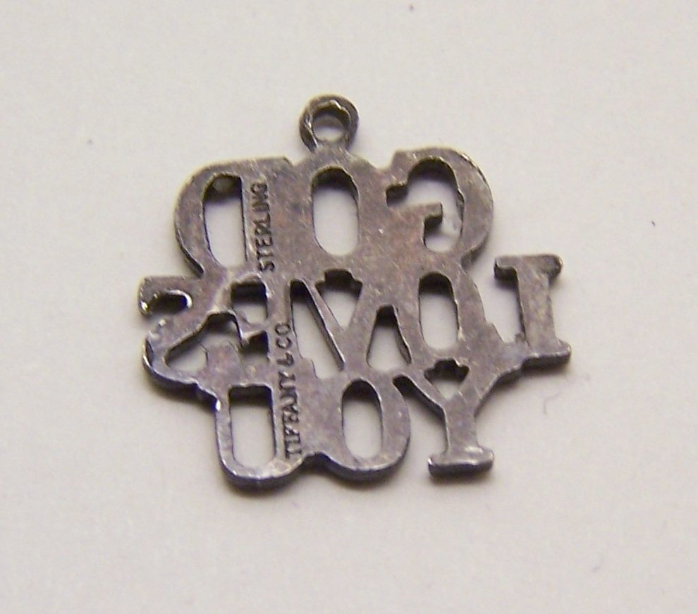 Tiffany & co God Loves You sterling charm bracelet - 3