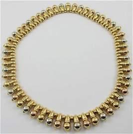 rare vintage BVLGARI 18k gold necklace