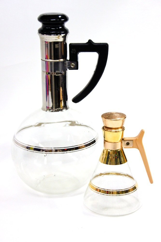 Original 1940s Glass Coffee Pots by Inland Glass Works