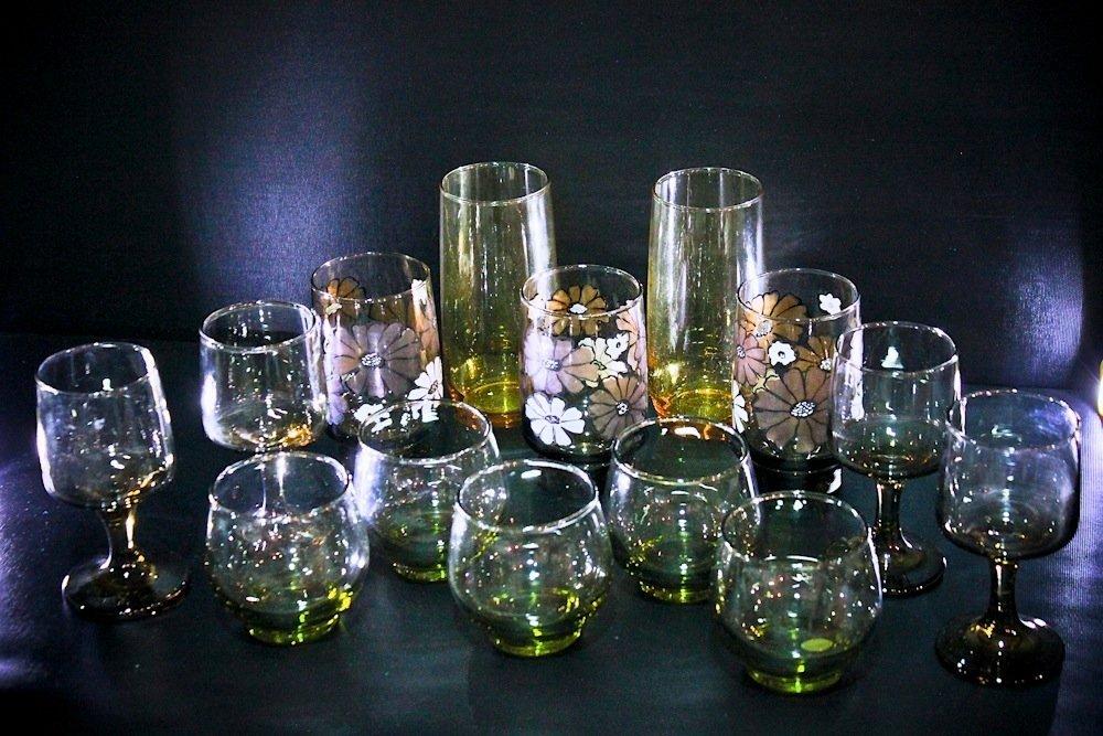 Vintage LIBBEY Glassware Lot (14)