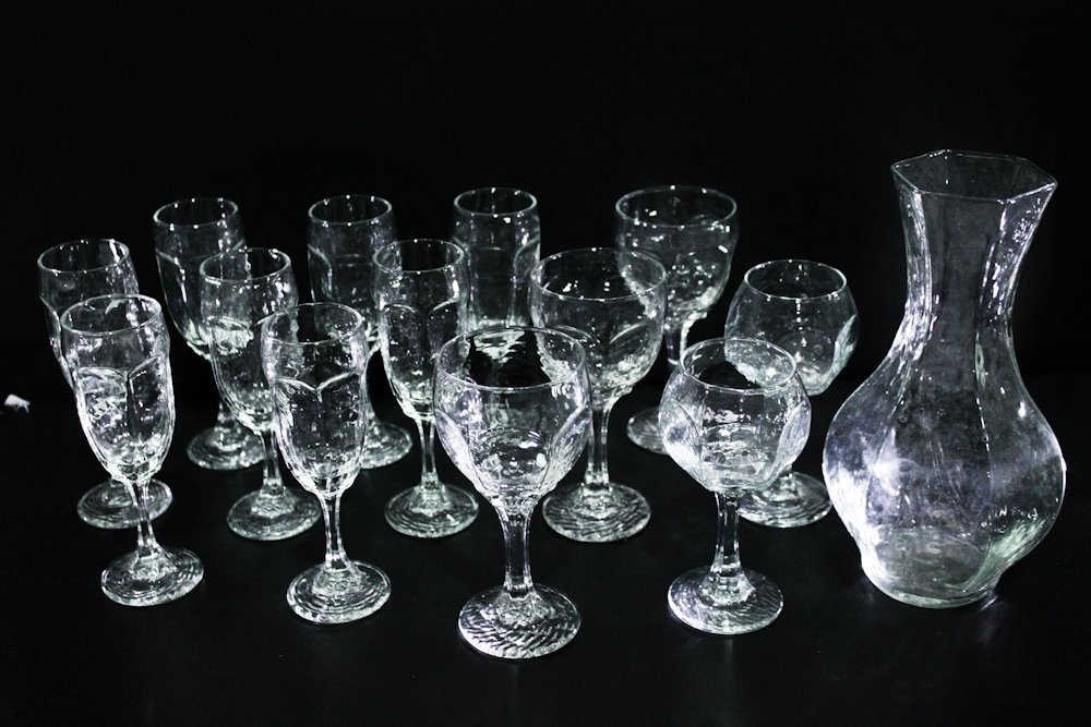 Libbey CHIVALRY CLEAR Liquor Cocktail Glass Stemware