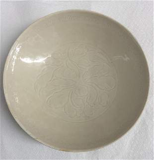 dingyao plate with mark. Song Period.