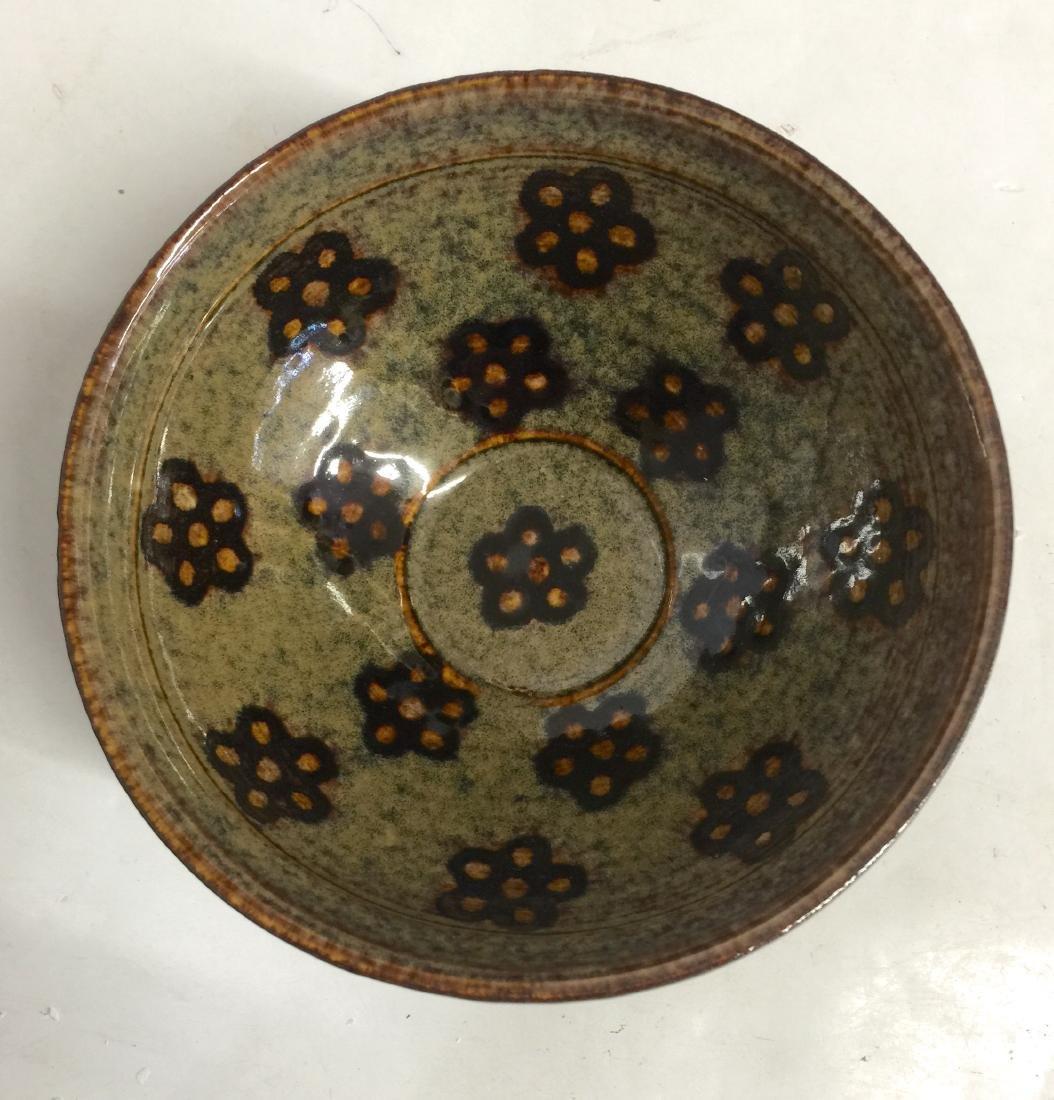 black glaze bowl. Song thru Ming.