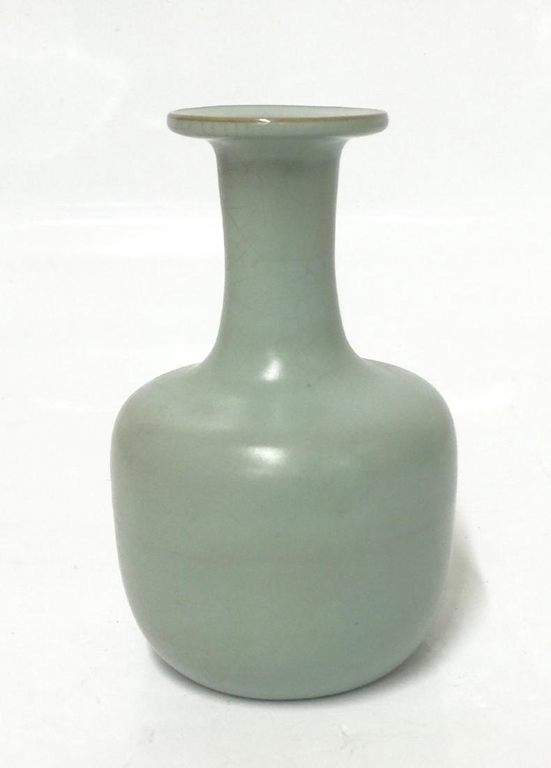 Fine ru yao vase. Probably Song Period