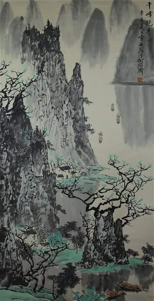 Painting by Bai Xue Shi.