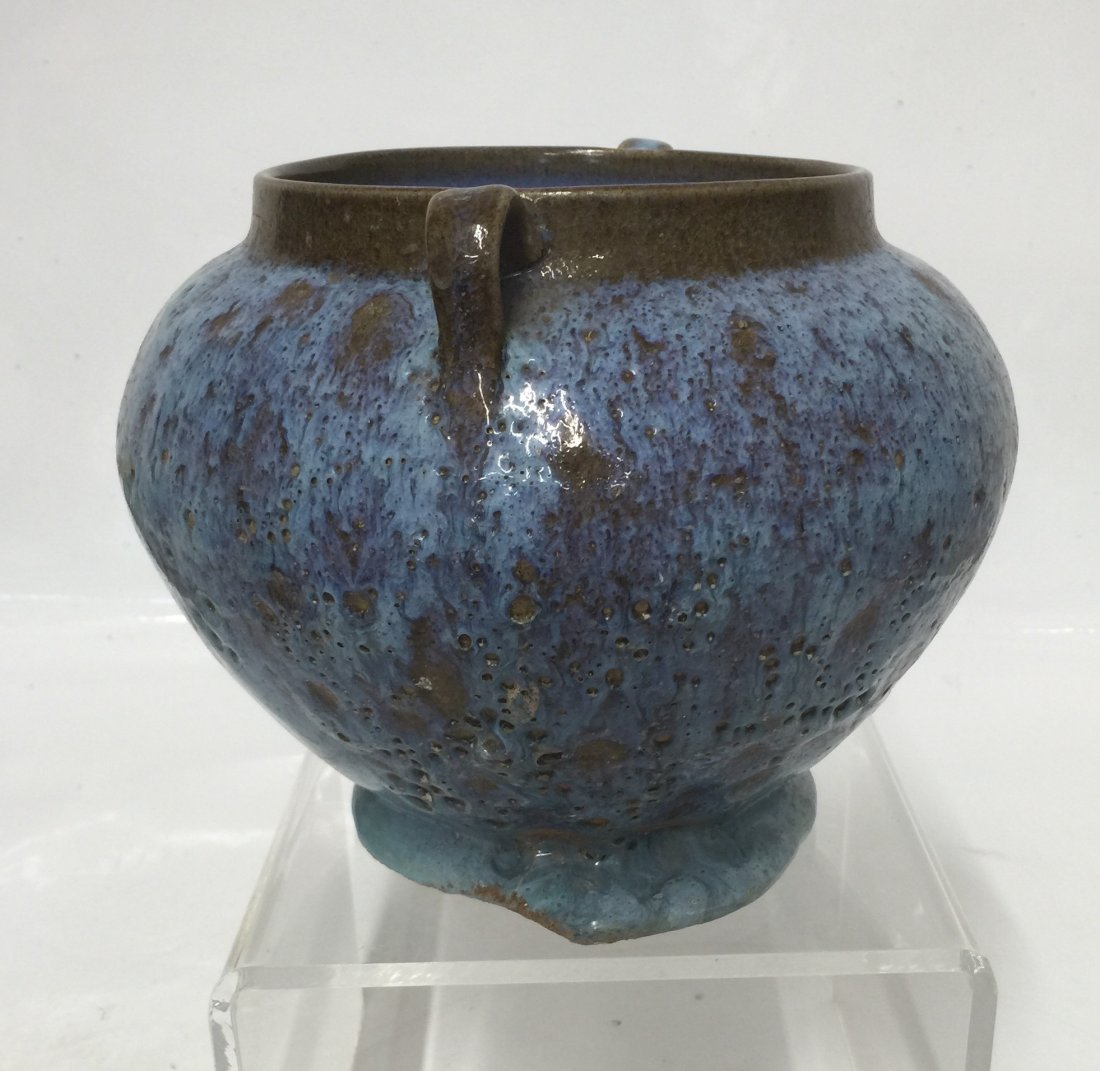 Junyao vase with numbered 5 on the bottom. Song thru Yu - 3