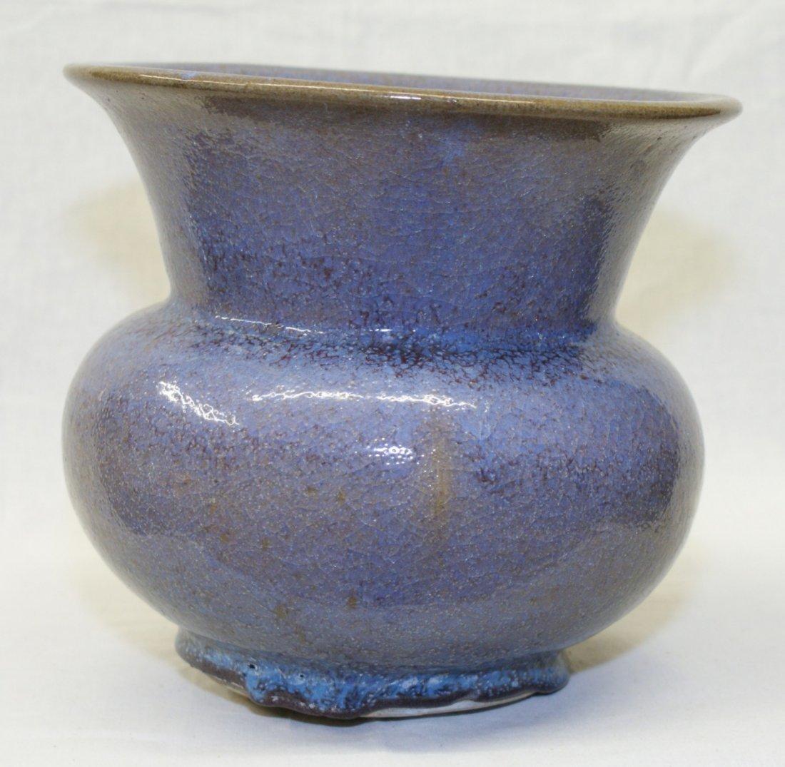 Purple junyao flower pot, Song Dynasty.