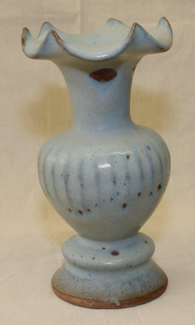 Junyao vase.  Song thru Ming Period.